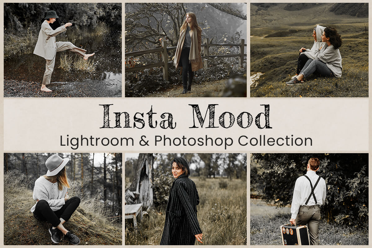Lightroom Mobile Presets Photoshop Filter Instagram Bloggers Mood Warm Outdoor Travel Photography Cinematic Influencers Vintage Rich Editing