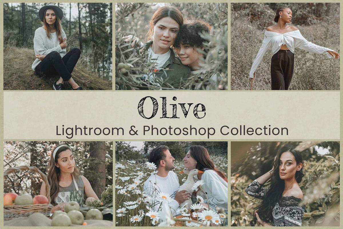 10 Olive Mobile Lightroom Preset Desktop Preset Photoshop Action Green Preset Lifestyle Preset Wedding Preset for Instagram Nature Preset