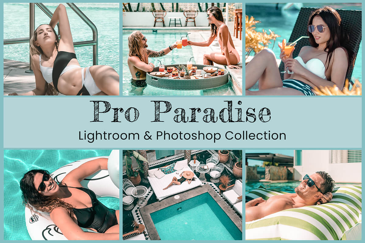 Lightroom Mobile Presets Photography Photoshop Instagram Filter Paradise Travel Bloggers Bright Summer Lifestyle Nature Tropical influencer