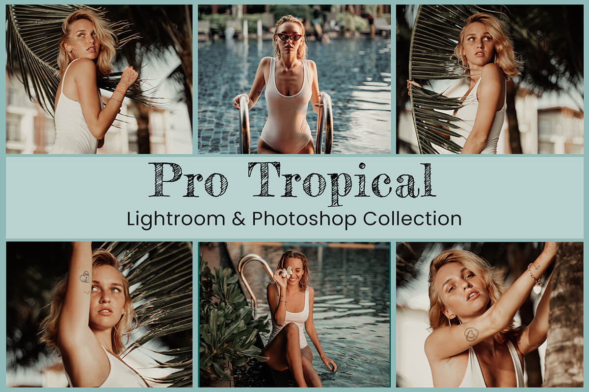 Mobile Lightroom Presets Instagram Filter Travel Photography Tropical Summer Lifestyle influencer Blogger Green Nature Moody outdoor Editing