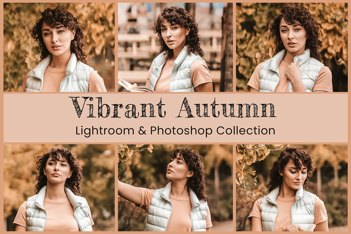 Lightroom Mobile Presets Photoshop blogger Instagram Autumn Vibrant Fall Filters Moody Warm Brown Pumpkin Apple Pie trip Photography Editing