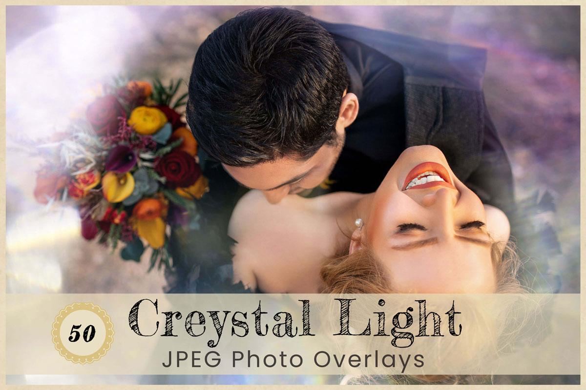 Digital Overlays Backdrops Background Photography Crystal Light leak Glitter Bokeh Photoshop Birthday Wedding Party Portrait flare Download