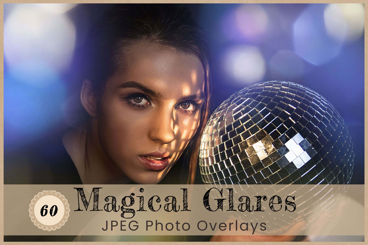 Magical Glares Digital Overlays Backdrops Backgrounds Photography Photoshop Wedding Party Birthday Newborn lens Flare neon Light leak Bokeh