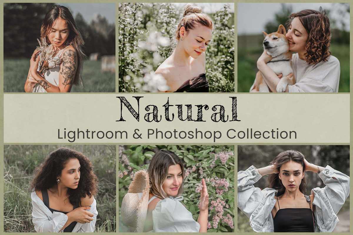 Natural Lightroom Mobile Presets Photoshop Filter Blogger Instagram Influencer Wedding Lifestyle Family Travel Photography Actions Bright