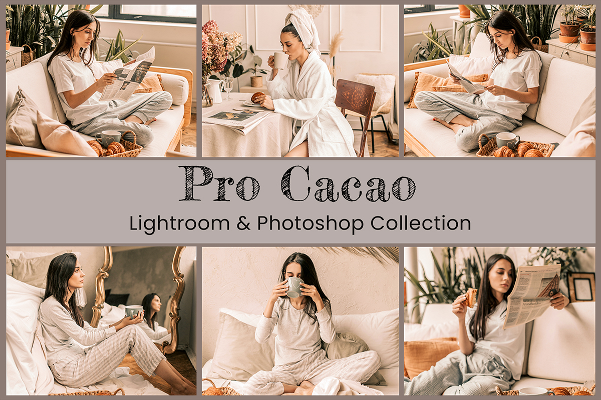 Lightroom Mobile Presets Photoshop Instagram Filter Lifestyle Blogger Cacao Chocolate Coffee Caramel Photography Editing Fashion Tanned LUTs