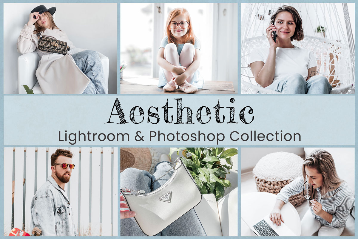 Aesthetic Lightroom Mobile Presets Photoshop Filters Instagram Film LUTs Blogger Influencer Natural Silk Lifestyle Creamy Bright Airy Inspo